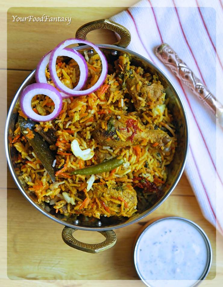 Chicken Dum Biryani Recipe | Your Food Fantasy