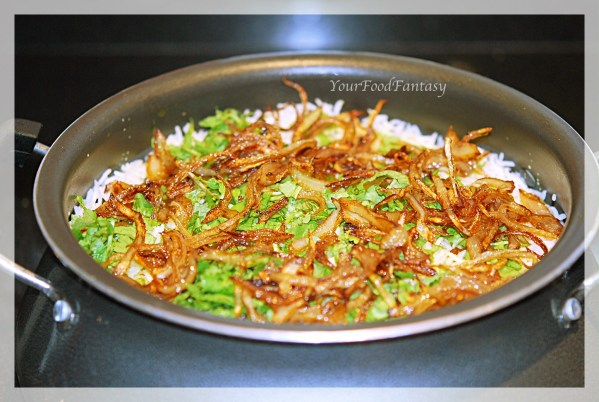 chicken biryani at yourfoodfantasy | find us at https://facebook.com/yourfoodfantasy