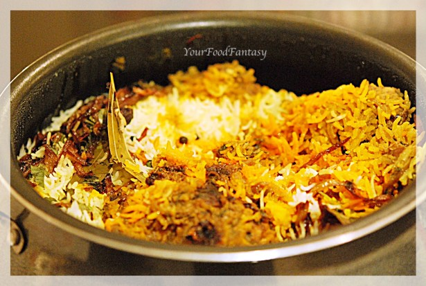 Chicken dum biryani | Biryani in the pot | yourfoodfantasy.com by meenu gupta