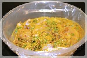Marinated chicken for chicken biryani | yourfoodfantasy