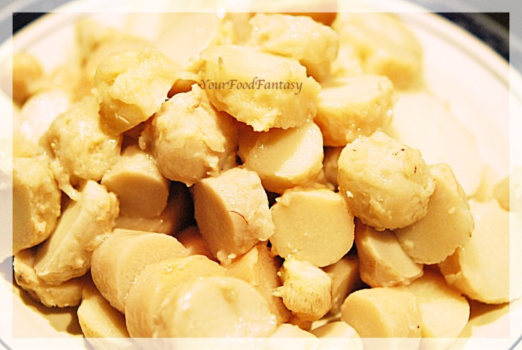 masala arbi preparation at yourfoodfantasy by meenu gupta