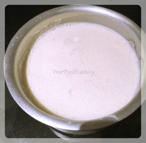 punjabi kadhi prepration at your food fantasy by meenu gupta