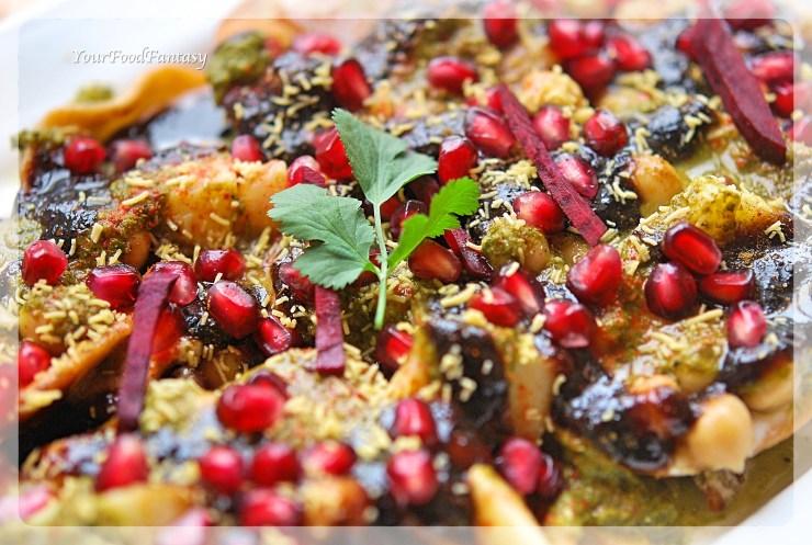 Delhi Style Papdi Chat | Your Food Fantasy by Meenu Gupta