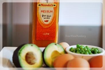 Recipe-prepration for Avocado Eggs at your food fantasy | YourFoodFantasy.com