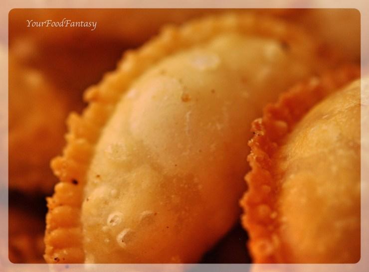 Gujiya by meenu gupta | yourfoodfantasy