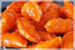 sugar coated colorful gujiya | gujiya recipe at yourfoodfantasy