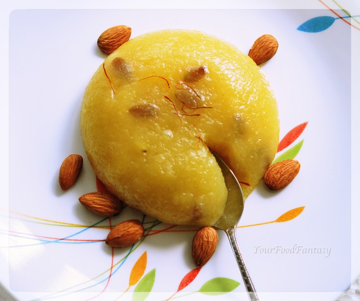 aalo halwa recipe at yourfoodfantasy