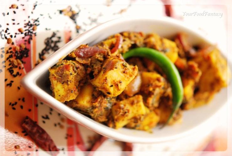 delicious masala paneer recipe| yourfoodfantasy.com by meenu gupta