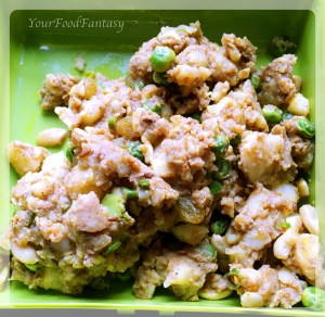 Stuffing for samosa - samosa filling | yourfoodfantasy