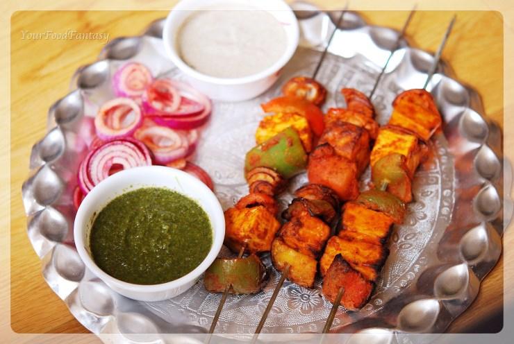 Paneer tikka| Indian food | yourfoodfantasy.com by meenu gupta