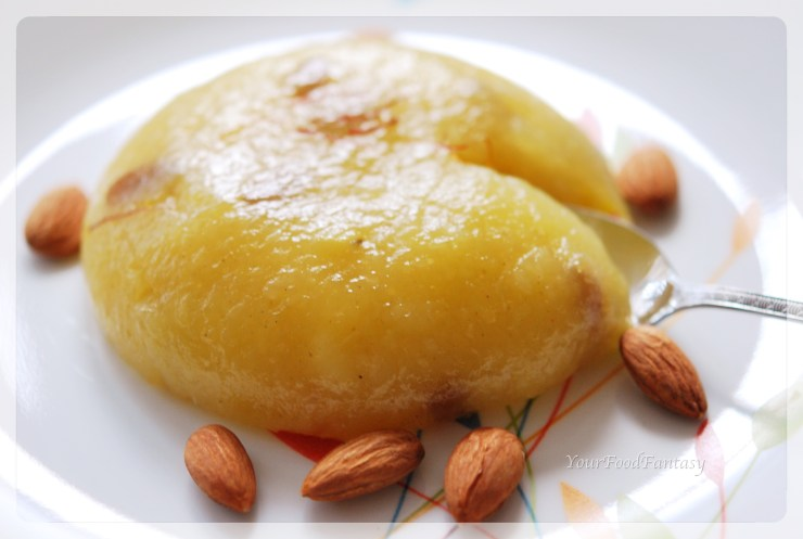 potato halwa recipe | yourfoodfantasy