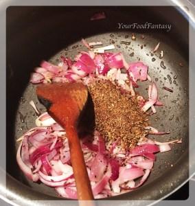 Preparing masala paneer | yourfoodfantasy.com by meenu gupta
