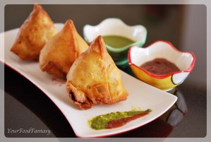 Punjabi samosa recipe | Your Food Fantasy