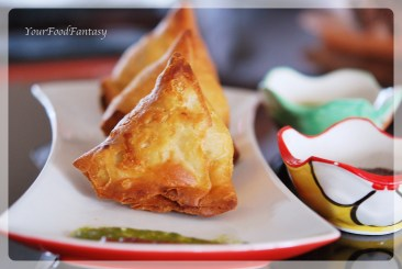 samosa at your food fantasy by meenu gupta