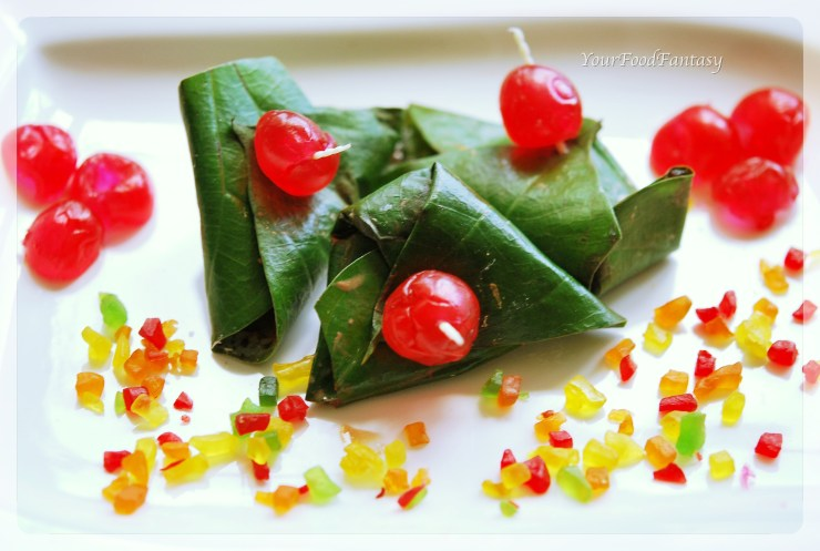 sweet paan recipe | yourfoodfantasy by meenu gupta