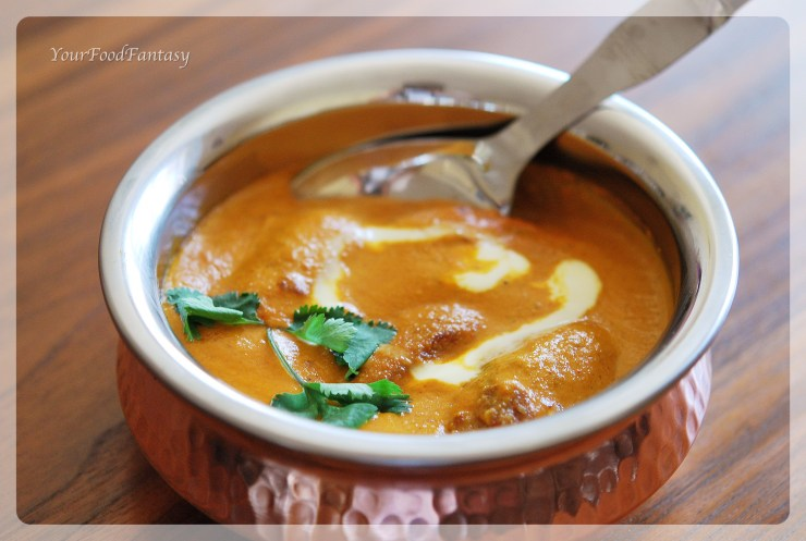 Malai Kofta recipe - YourFoodFantasy.com