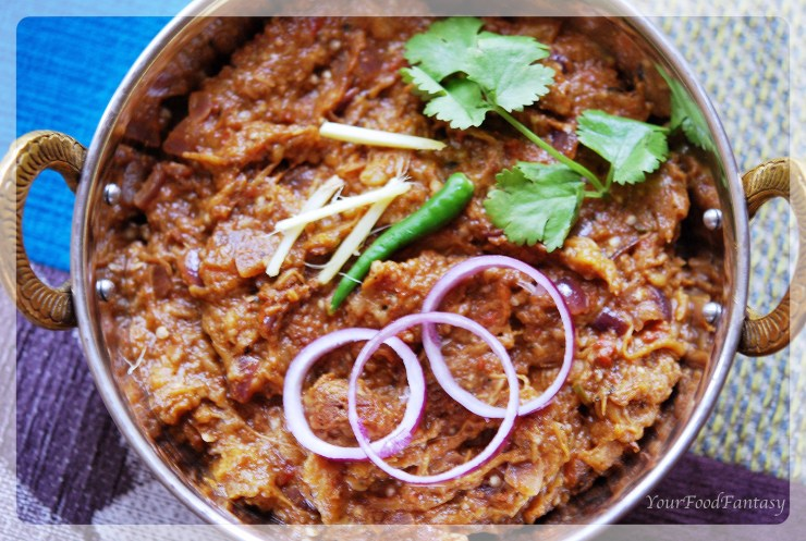 Baingan bharta at yourfoodfantasy.com by meenu gupta