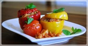 Gemista recipe | Yamista recipe | Greek food recipe