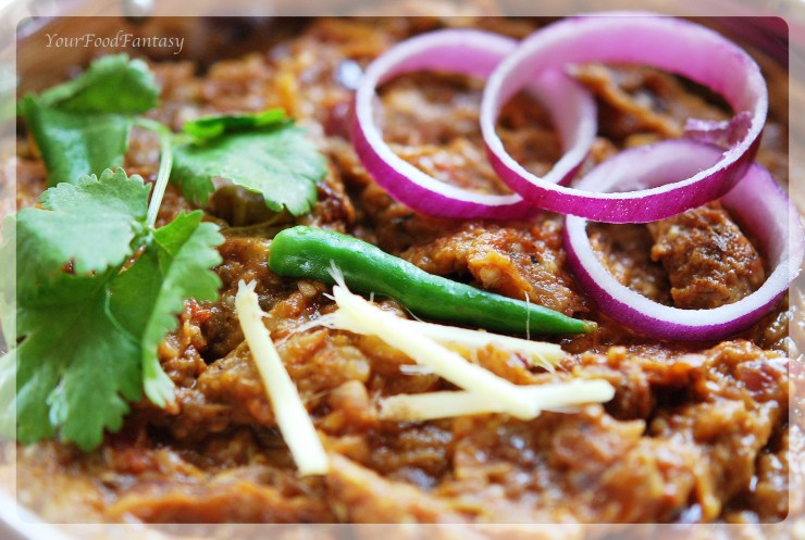 recipe of baingan bharta