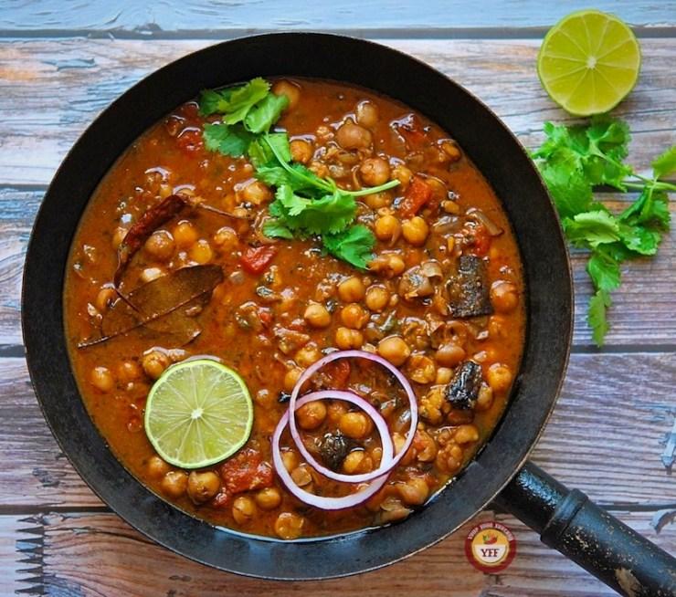 Chana Masala Curry - Chole Recipe | Your Food Fantasy
