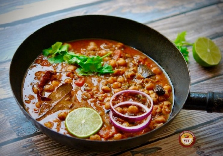 Chana Masala Curry Recipe - Chole Recipe | Your Food Fantasy
