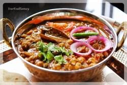 Chickpea curry recipe - Punjabi Chole | Your Food Fantasy