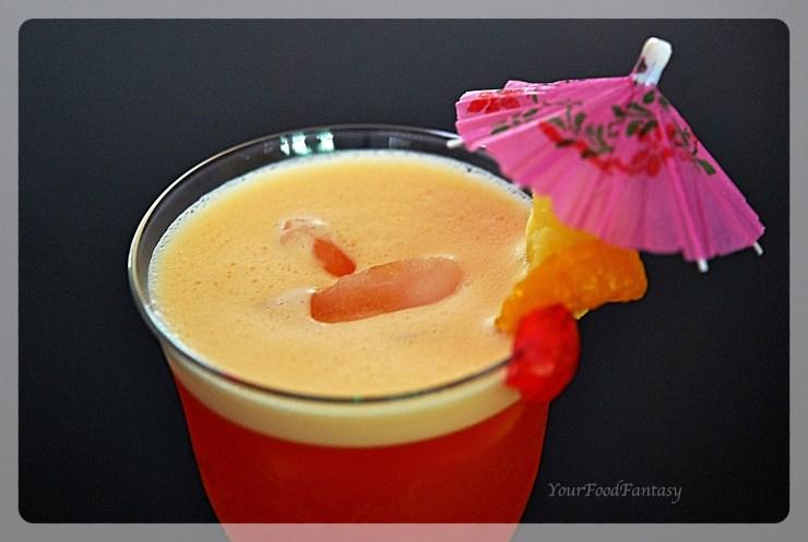 Fruit Punch Mocktail Recipe - YourFoodFantasy.com