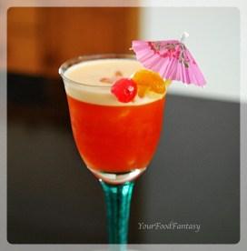 Fruit Punch | Mocktail | YourFoodFantasy