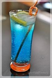 Mocktail Recipes | Blue Lagoon | Your Food Fantasy