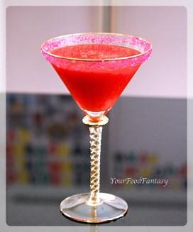 Moctail Recipe | Strawberry Margarita | YourFoodFantasy.com
