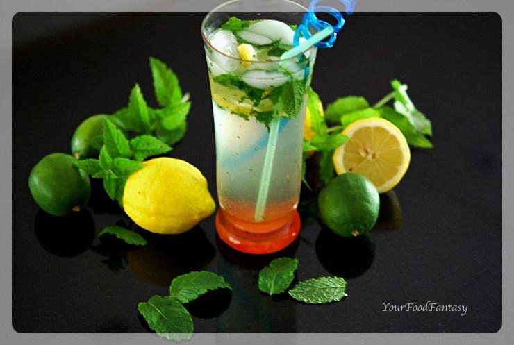 Virgin Mojito Recipe - Easy Mocktail Recipe | Your Food Fantasy