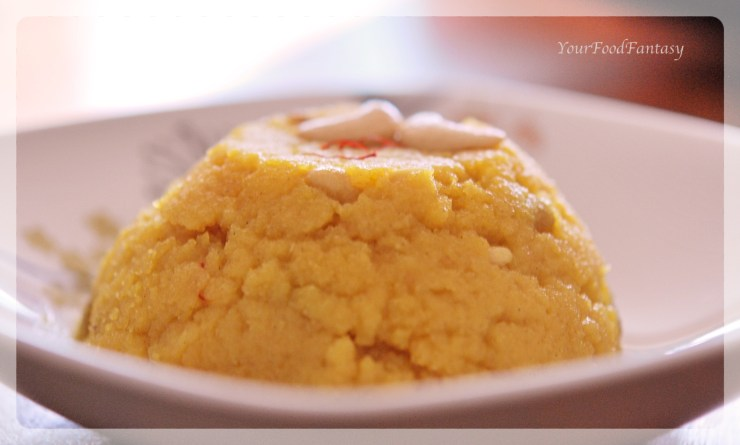 Moong Daal Halwa Recipe at YourFoodFantasy.com