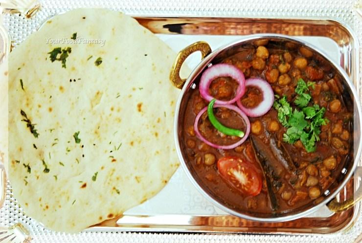 North Indian Chole recipe | YourFoodFantasy.com by Meenu Gupta