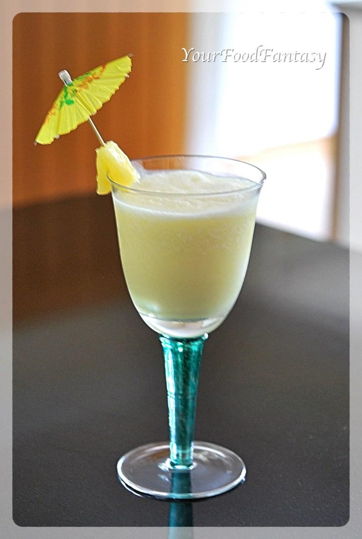 Pina Colada | Mocktail | Yourfoodfantasy.com