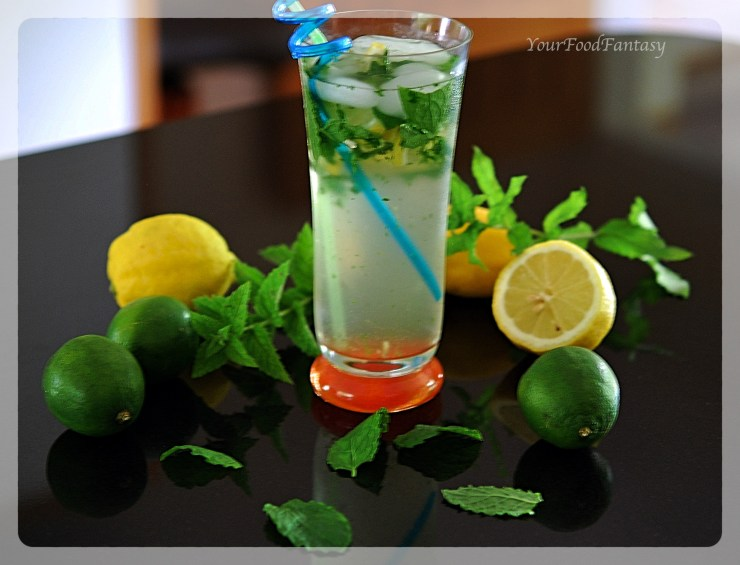 Virgin Mojito | YourFoodFantasy by Meenu Gupta