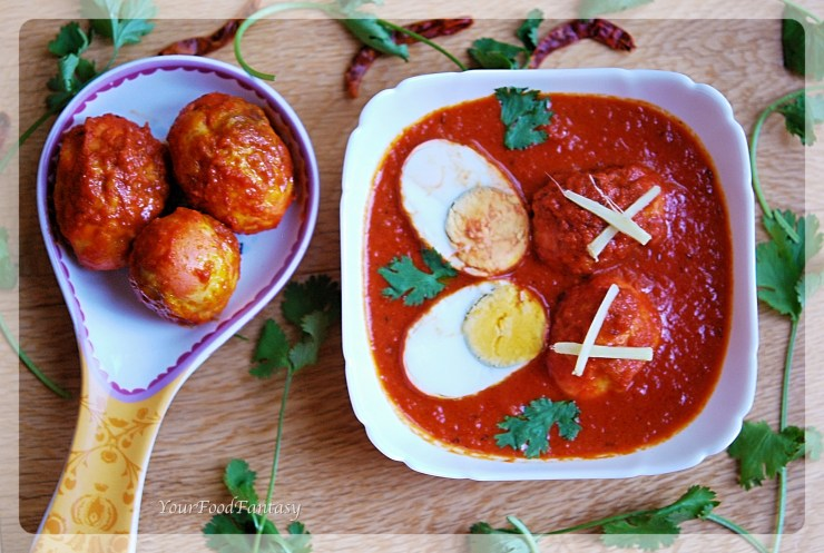 Punjabi Egg Curry | YourFoodFantasy.com