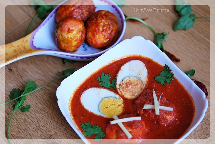 Indian Egg Curry | YourFoodfantasy.com by Meenu Gupta
