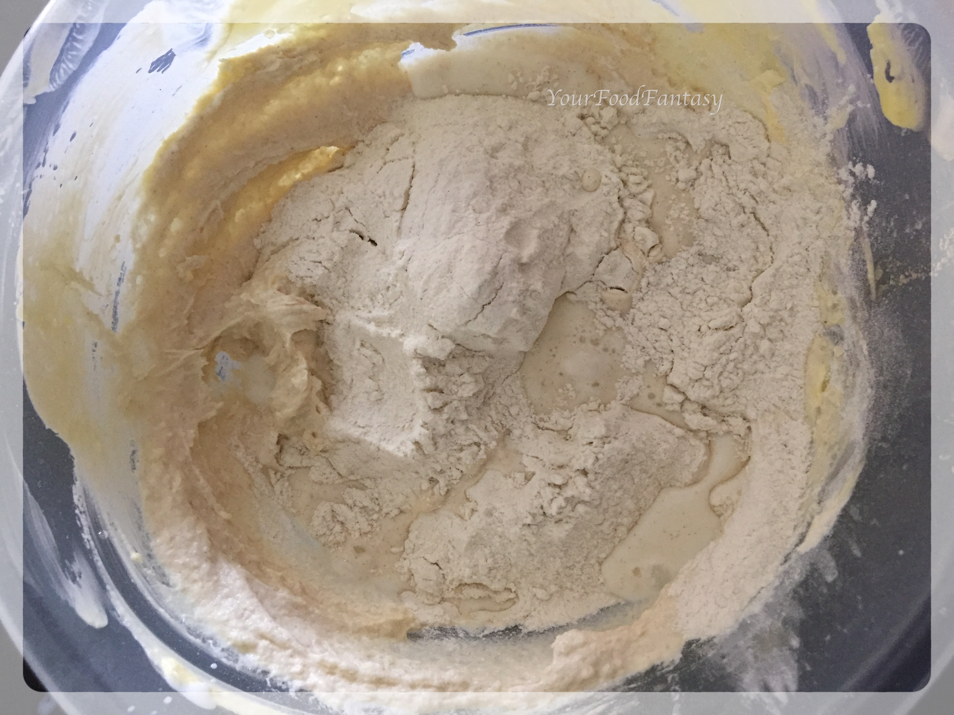 Mixing Milk | Ghevar Recipe | YourFoodFantasy.com