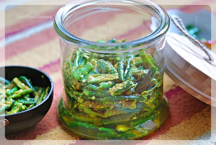 Instant Chilli Pickle Recipe | YourFoodFantasy.com by Meenu Gupta