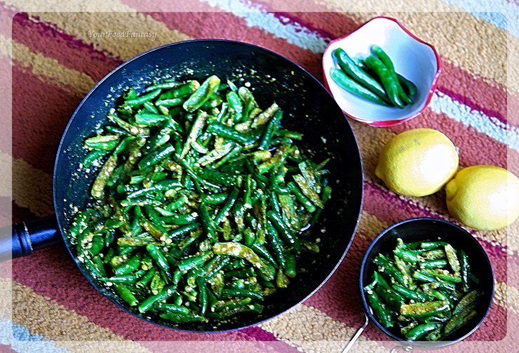 How To Make Green Chilli Pickle | YourFoodFantasy.com