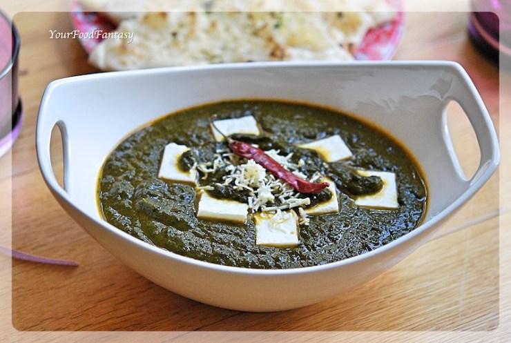 Palak Paneer Recipe | Your Food Fantasy