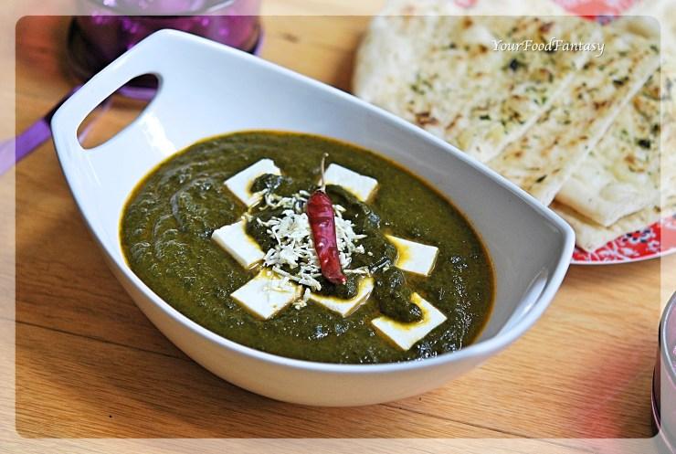 Palak Paneer Recipe   Your Food Fantasy by Meenu Gupta