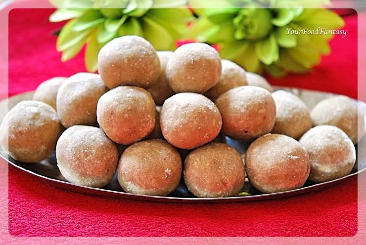 Wheat Flour Ladoo Recipe | Atta Ladoo