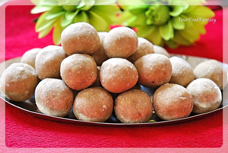 Wheat Flour Recipe | Easy Diwali Sweet | YourFoodFantasy.com