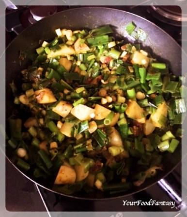 Spring Onion Recipe | YourFoodFantasy.com