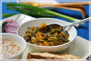 Spring Onion Curry Recipe | Your Food Fantasy