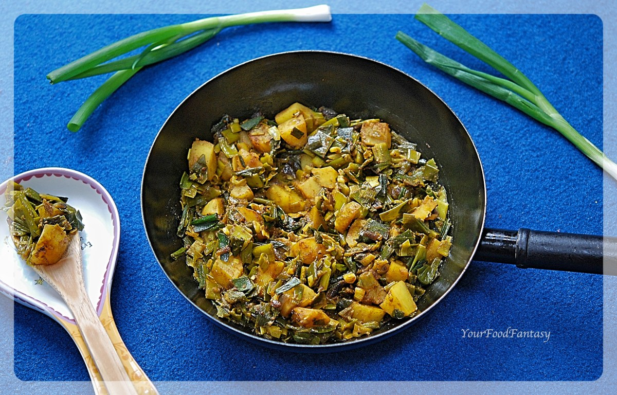 Spring Onion Curry Recipe