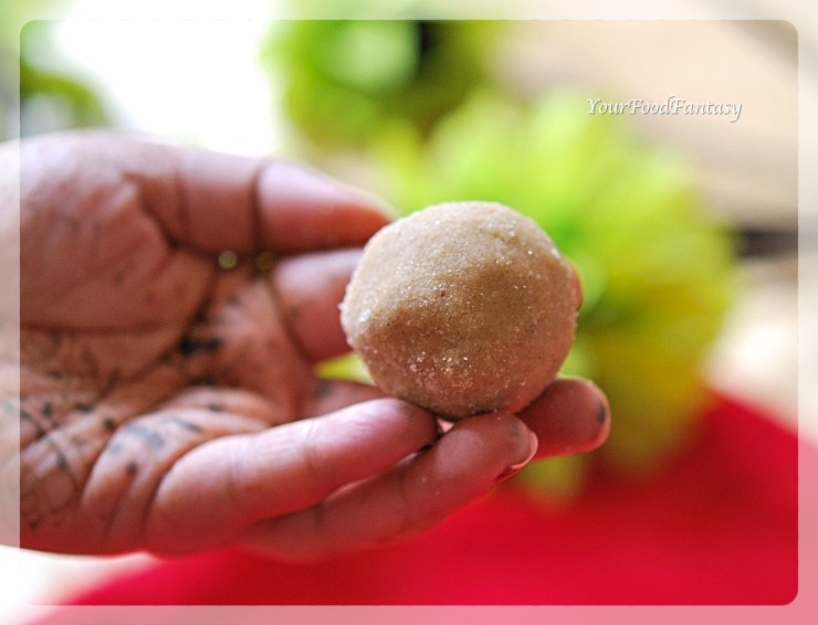 Wheat Flour Ladoo Recipe | Your Food Fantasy