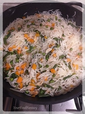 Veg Pulao Ready to be Plated | Your Food Fantasy