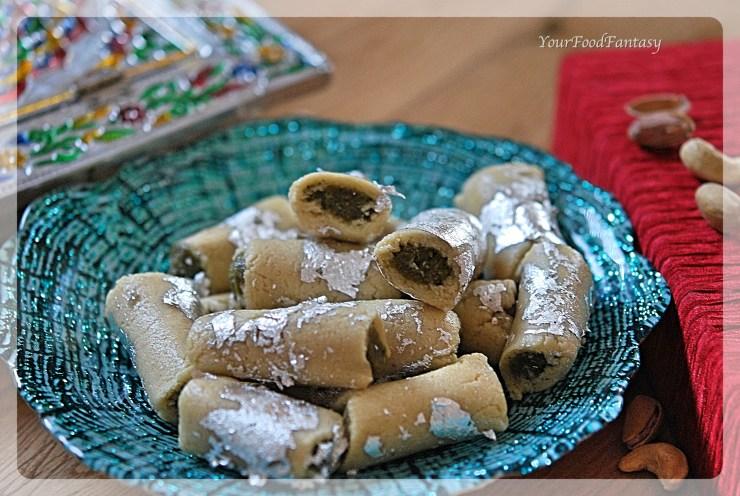 kaju-pista-roll-recipe-indian-sweet-your-food-fantasy